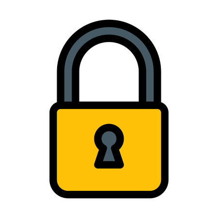 Lock System or Portal Ilustração