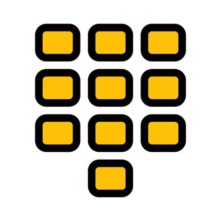 Dial Pad Stock Illustratie