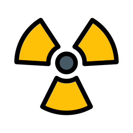 Radioactive Nuclear Symbol  イラスト・ベクター素材