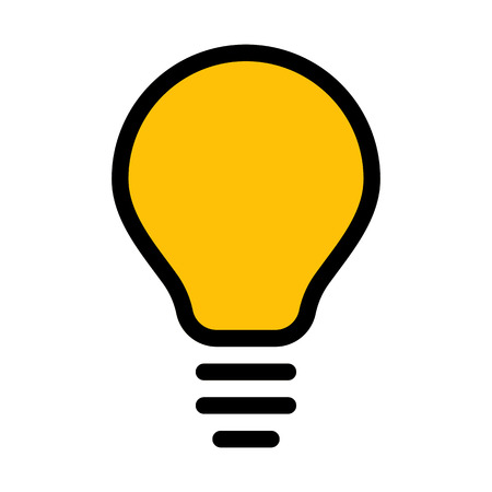 Electric Light Bulb 向量圖像