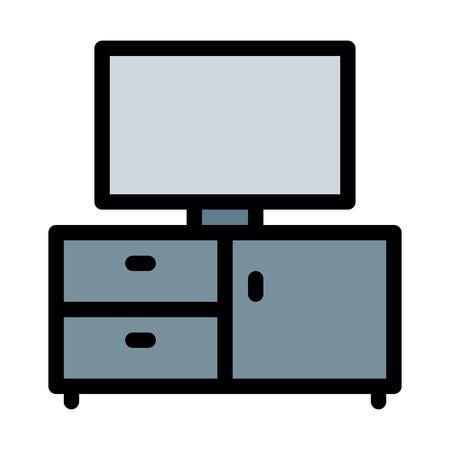 TV Desk Setup