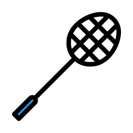 Badminton Sports Racket Ilustração