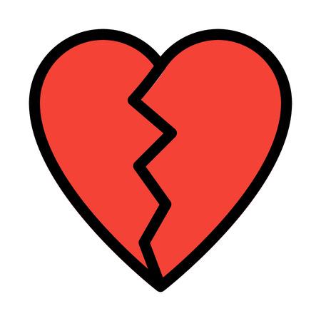 Broken Heart Shape