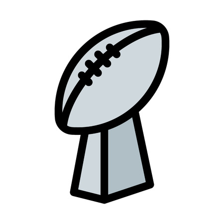 Coupe du Super Bowl Vecteurs