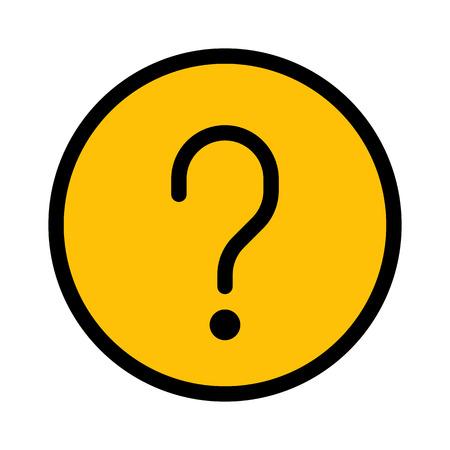 Website FAQ Mark 向量圖像