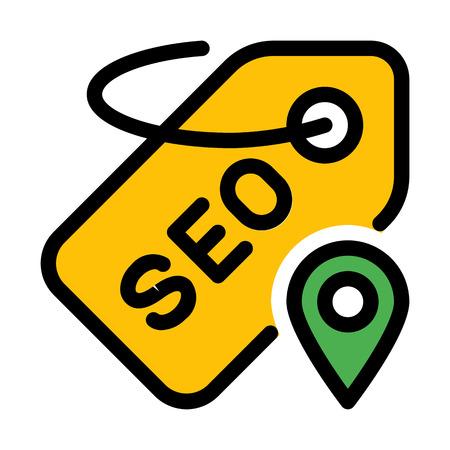 Seo Tag Place Ilustração