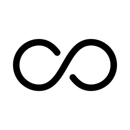 Infinity loop sign