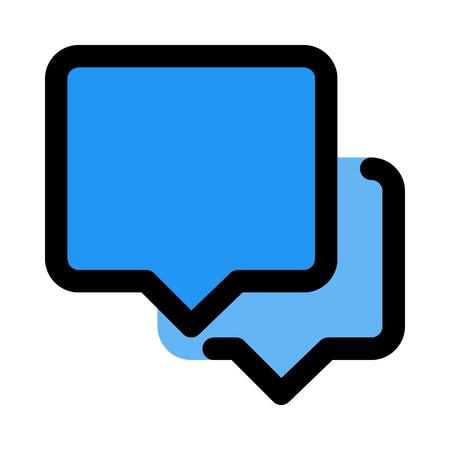 chatting bubbles dialogue
