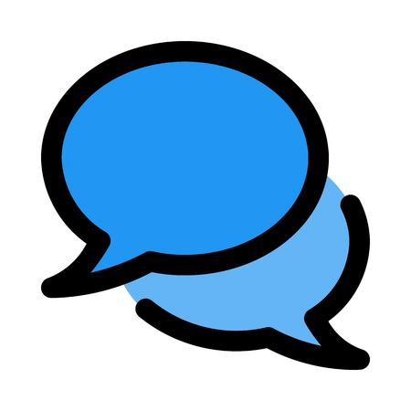 talk chat bubbles