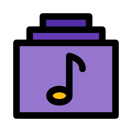 music album library