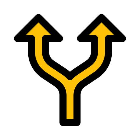 split up arrows