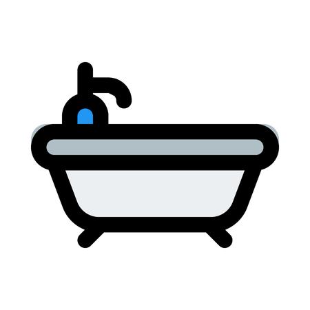 Modern bathroom tub