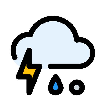 thunder freezing rain