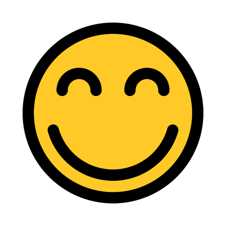 happy face emoji Иллюстрация