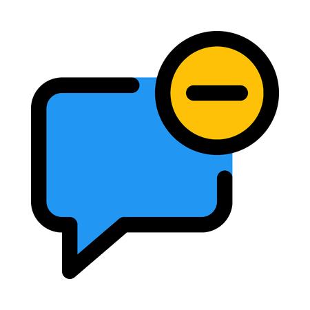delete chat message