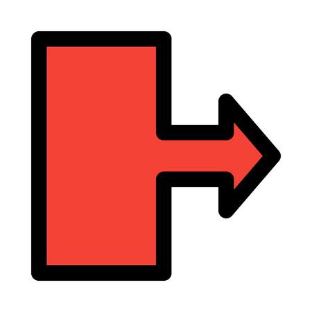 move right arrow