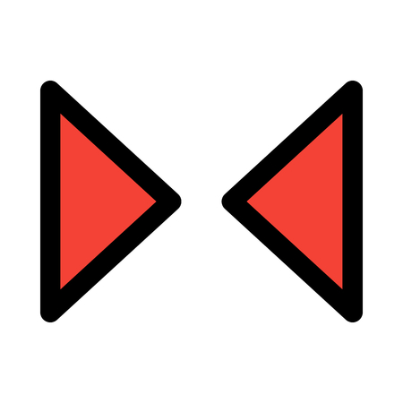 inward compress arrows