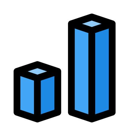 rectangular bar graph