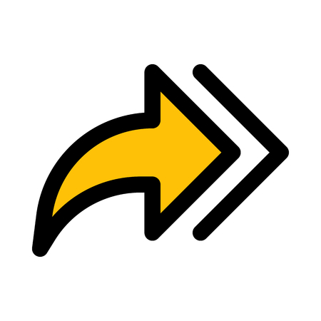 double forward arrows Ilustração