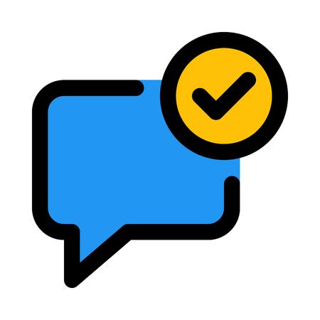 delivered chat checkmark