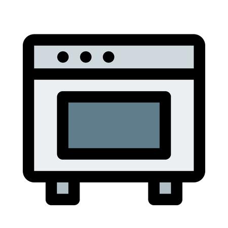 household appliance oven Ilustrace