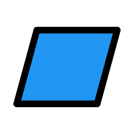 parallelogram - parallel sides
