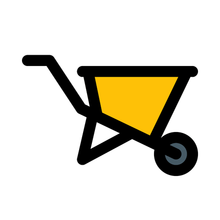 Wheel barrow cart
