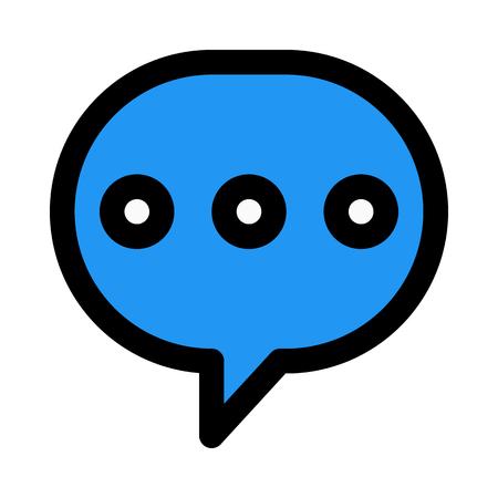 online conversation typing