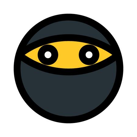 emoji with mask 일러스트