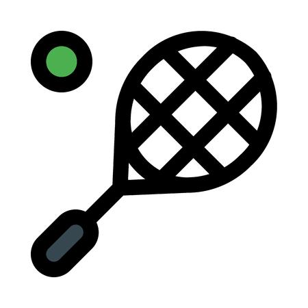 lawn tennis ball Ilustração