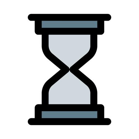 Hourglass, time measurment device 일러스트