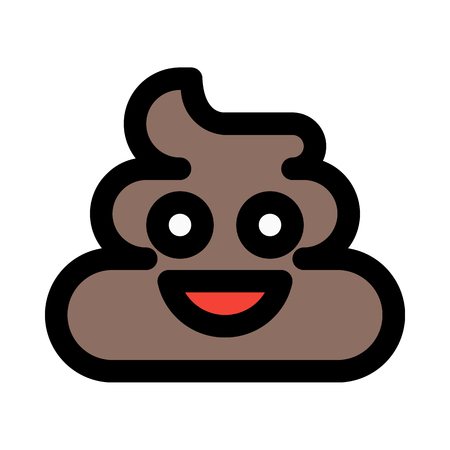 smiling poop emoticons