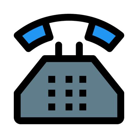 vintage dial phone 版權商用圖片 - 116334372