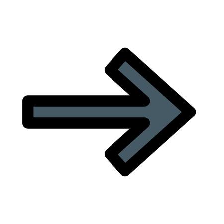 Next arrow direction Иллюстрация