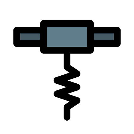 corkscrew pierce tool