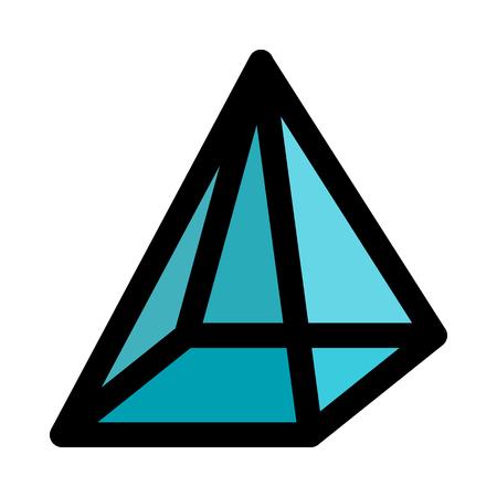 pyramid with apex point Stok Fotoğraf - 116334384