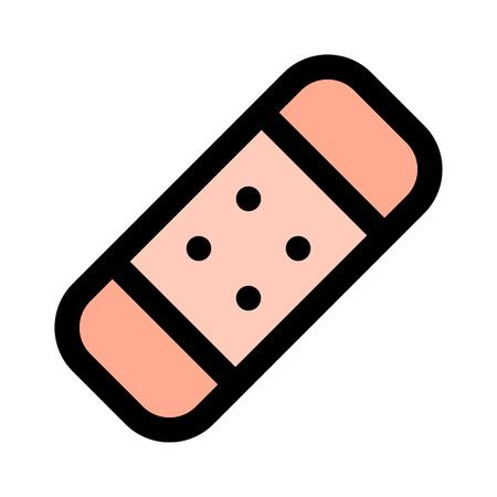 Fist aid bandage illustration Stockfoto - 116334421