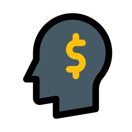 money investment idea Ilustrace