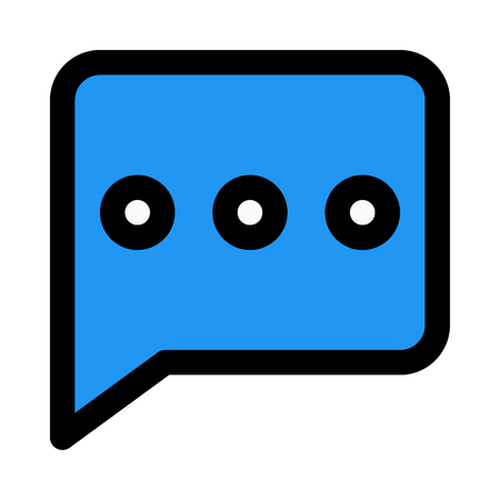 conversation chat bubble