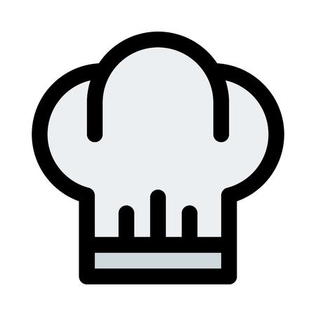 chef toque hat Banque d'images - 125624710