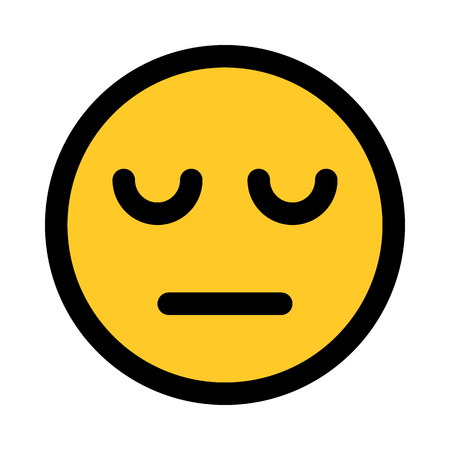 tired face emoji Standard-Bild - 116334802