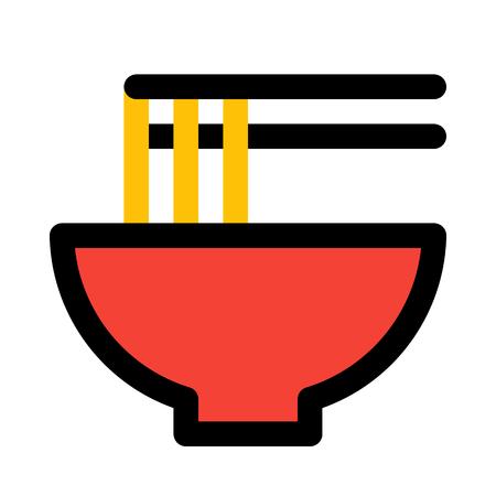 ramen noodle chopsticks