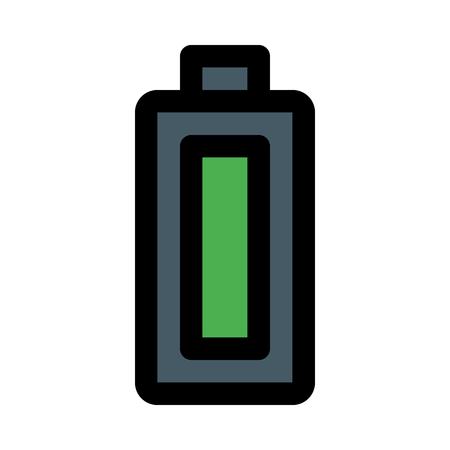 full battery level Illusztráció