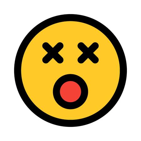 dizzy face expression emoji