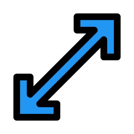 expand maximize arrow Ilustração