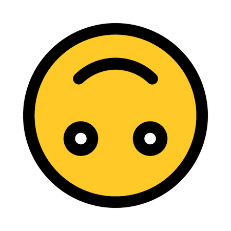 upside down emoji Иллюстрация