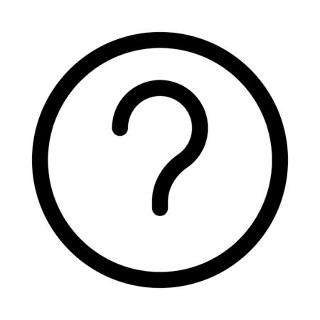 Question mark sign Vetores