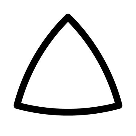 reuleaux triangle shape