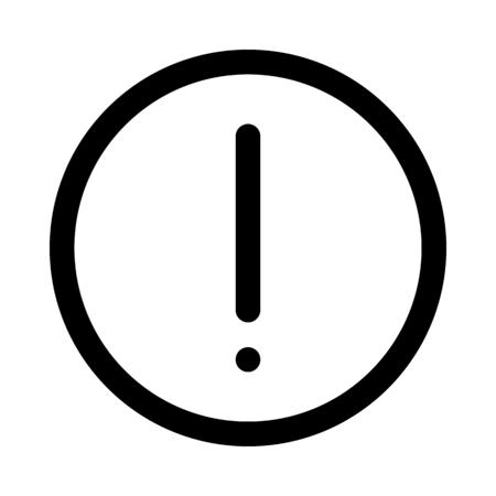 Alert warning notification Çizim