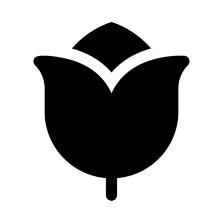 Decorative tulip flower Imagens - 125445164